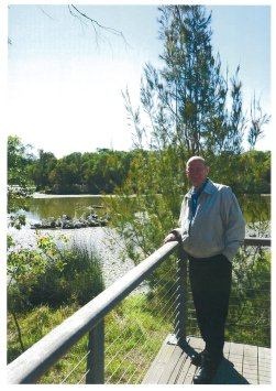 Cr Able said his greatest achievement was his $38 million project, Berrinba Wetlands. Source: Provided