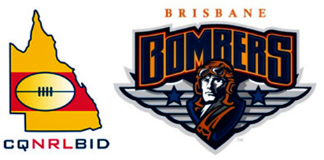 The CQ NRL Bid and Brisbane Bombers are in the pursuit of an NRL license.