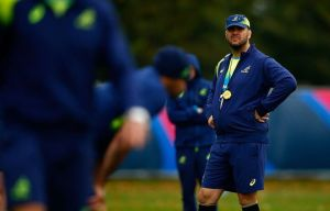 Wallabies coach Michael Cheika is ensuring his squad isn't complacent ahead of the showdown with Scotland.