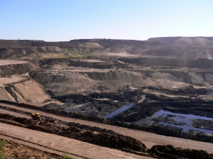 A coal mine in China, similar to what the Carmichael coal mine will look like. Source: Wikipedia