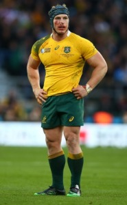 The warrior.. David Pocock will need to be ready for battle against the All Blacks, Australia needs him to be. Photo: Facebook