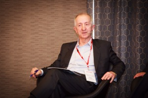 Discussing the impact of Global Banking and Finance, Robert Johanson Source Supplied