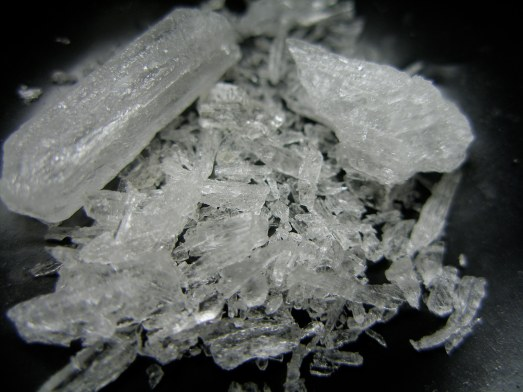 Ice fragments ready to be crushed down for use. Source: Wikipedia