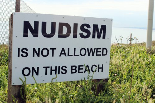 Polls show support for a legalised nudist beach. Source: Creative Commons
