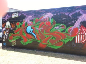Steve Lowe Graffiti - Taken By Joshua Adamson