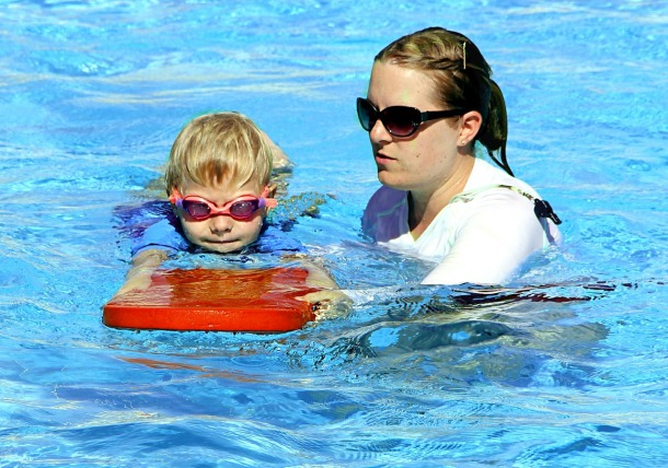A new report shows that child drownings are down year on year Source: Supplied