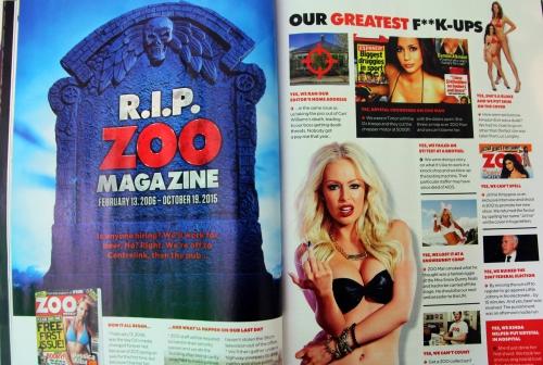 Zoo Mag Spread