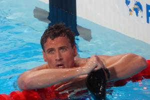 US swimmer Ryan Lochte was robbed at gunpoint in RIO this morning. Photo: Wikimedia