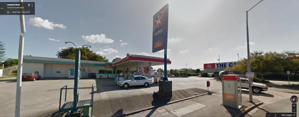 The Service Station on Fuller St Windsor. Source Google Maps