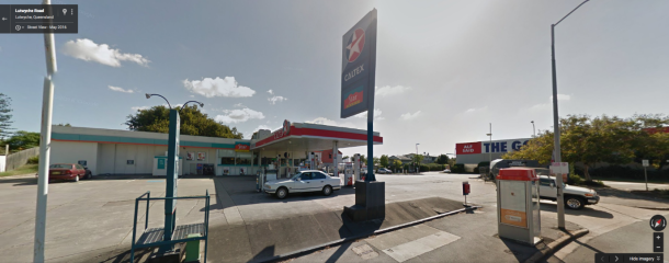 The Service Station on Fuller St Windsor. Source Google Maps