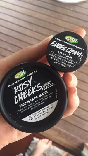 LUSH Cosmetics Products Image: Grace Llewellyn