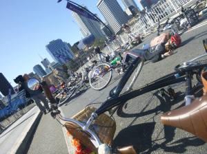 Belinda Ward Cycle Protest