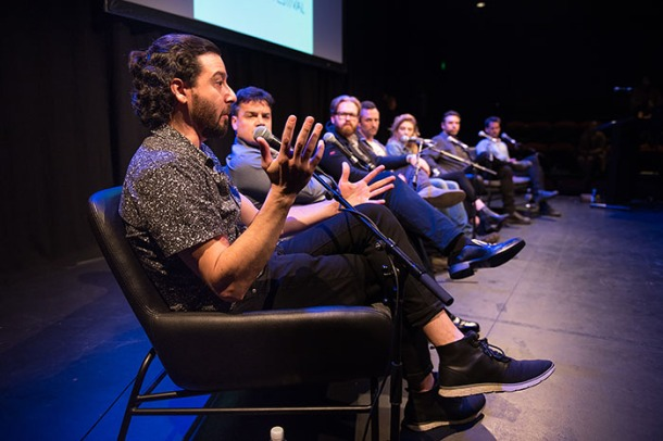 Australian Virtual Reality Film Festival panelists