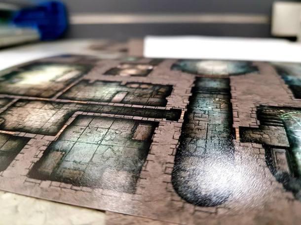 D&D Map Layout
