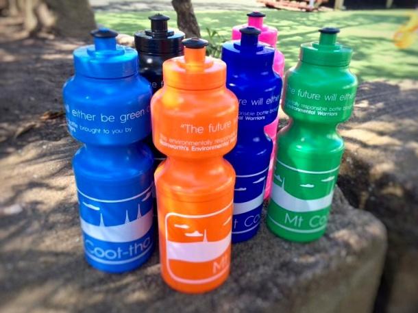 BPA-free bottles at the Rainbow Carnival