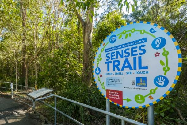 Downfall Creek Bushland Center Senses Trail