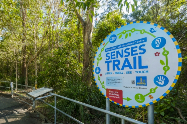 Downfall Creek Bushland Center Senses Trail