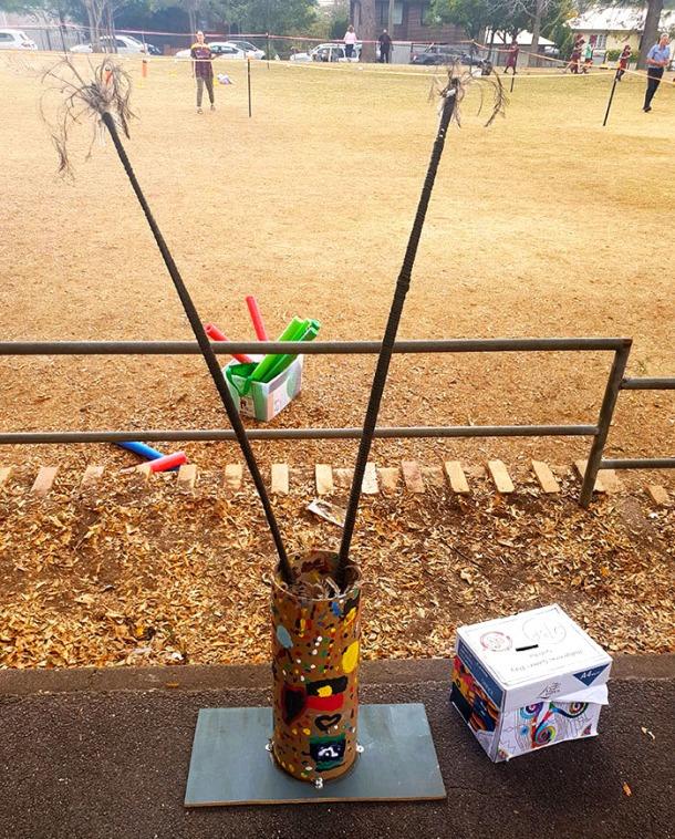 Ceremonial spears