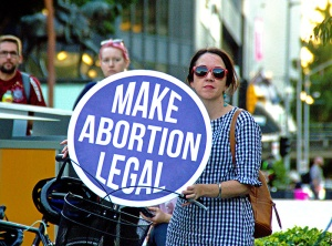 Abortion rights campaigner
