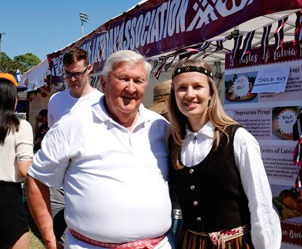 Adolfs Lacis and member Ante Deksne