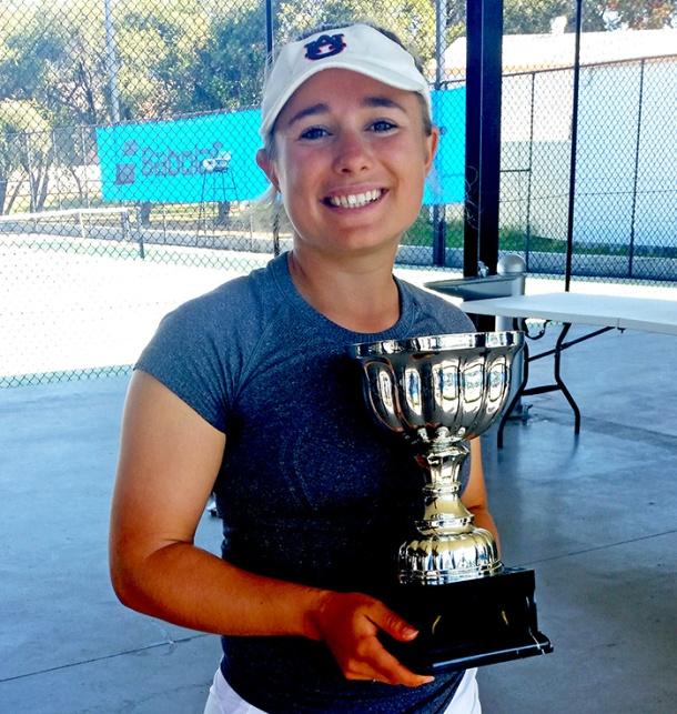 Redcliffe Open winner Andie Dikosavlijevic
