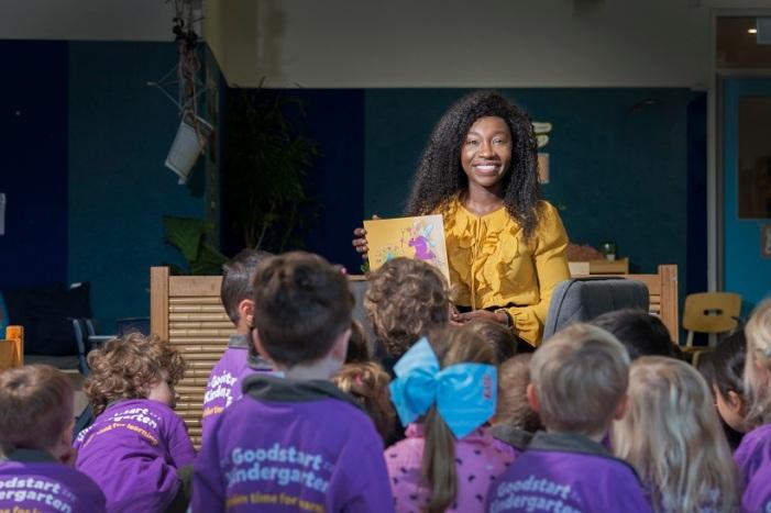 Anita Kissi at Goodstart Early Learning Varsity Lakes -1
