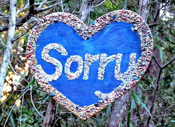 Balaangala Community Centre Sorry memorial
