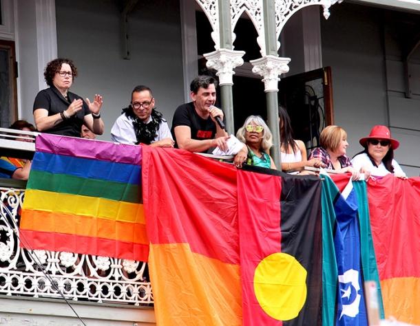 Brisbane Pride President Deeje Hancock
