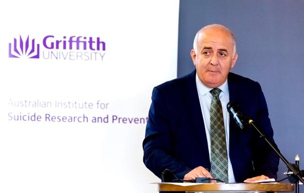 Queensland Mental Health Commissioner Ivan Frkovic