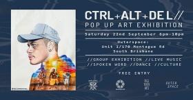 Ctrl+Alt+Del: Systems Shut Down is a pop-up art exhibition
