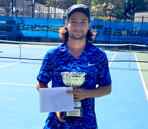 Redcliffe Open winner Mitchell Robins
