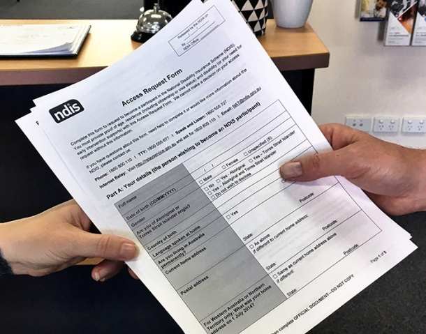 NDIS request form