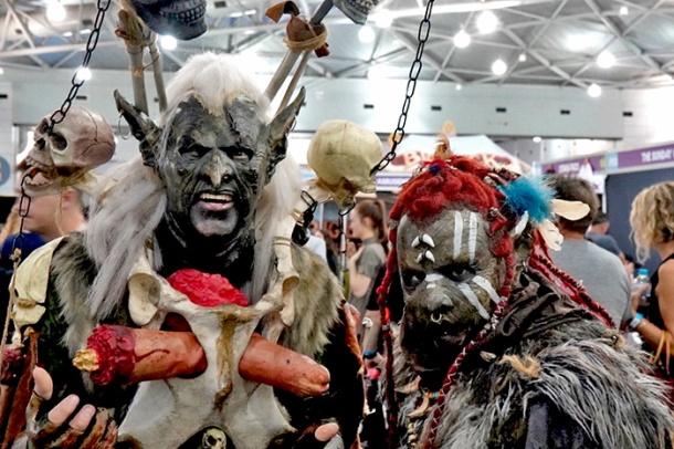 Orcs Oz Comic-Con 2018