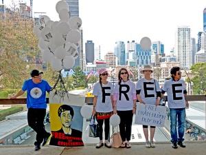 prisoners of conscience demonstration