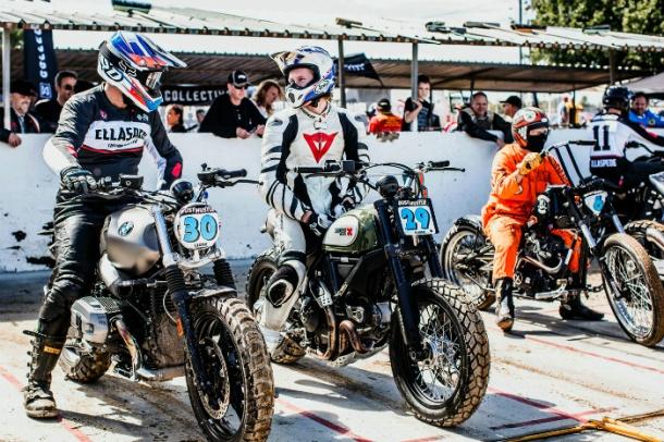 Riders wait at Dust Hustle 7
