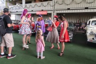 Pin Up girls showed the younger generations some 60s and 70s fun. Photo: Erin Semmler