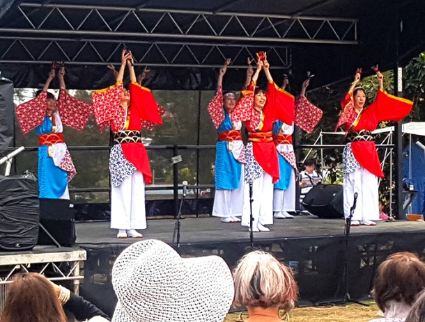 Yosakoi performance at the Japanese Festival