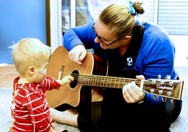 Music therapy with children