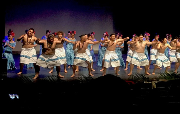 UQSPIA performing a Samoan dance