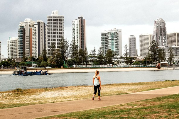 The Broadwater Parklands site for the Gold Coast Show