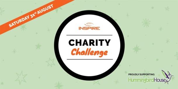 Inspire charity challenge