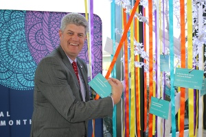 Stirling Hinchliffe at Multicultural Queensland Month