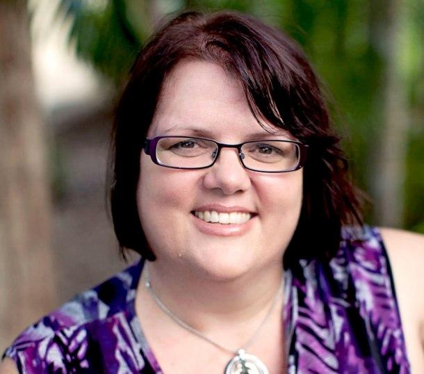 Gladstone-based author Sue-Ellen Pashley