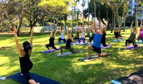 Yoga4Dignity in the park