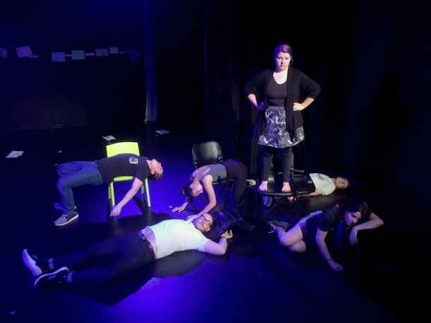 Griffith University drama students