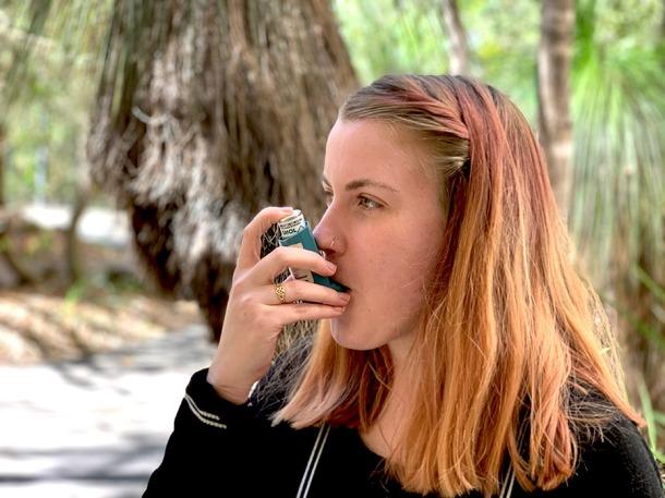 Asthmatic Brittiny Edwards