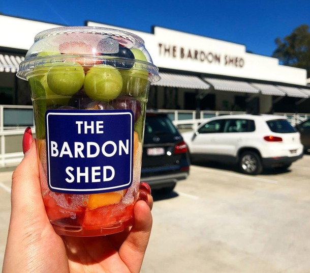 Fruit cups Bardon Shed