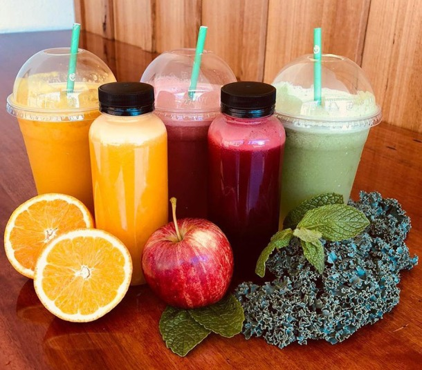 The Bardon Shed juices