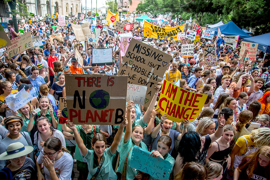 Brisbane students join global climate strike – The Source News