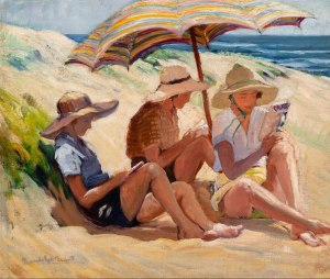 Gwendolyn Grant The Beach Umbrella